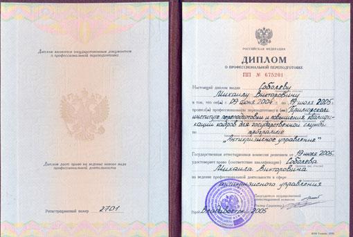 Антикризисное управление, диплом
